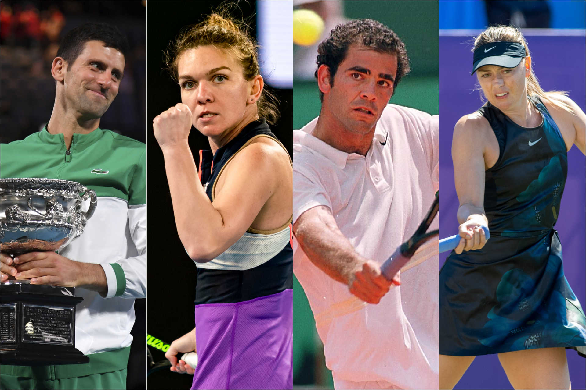 Which tennis players won the most prize money in history?