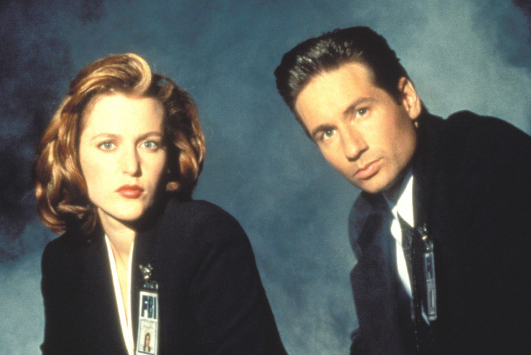 Do you remember Mulder and Scully from 'The X-Files'?