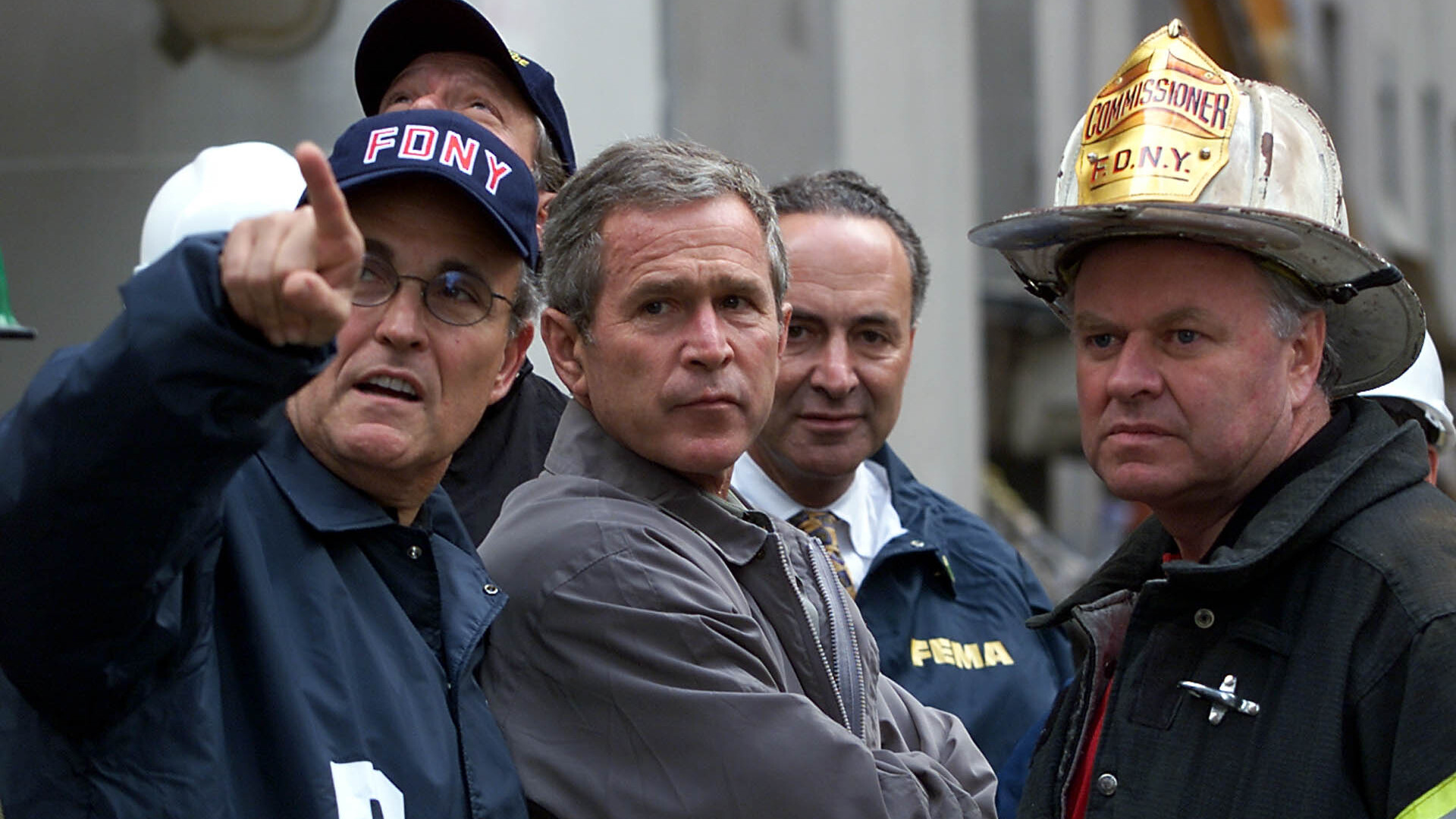 Powell, Bush, Giuliani: protagonists of 9/11. Where were they then, where are they now?