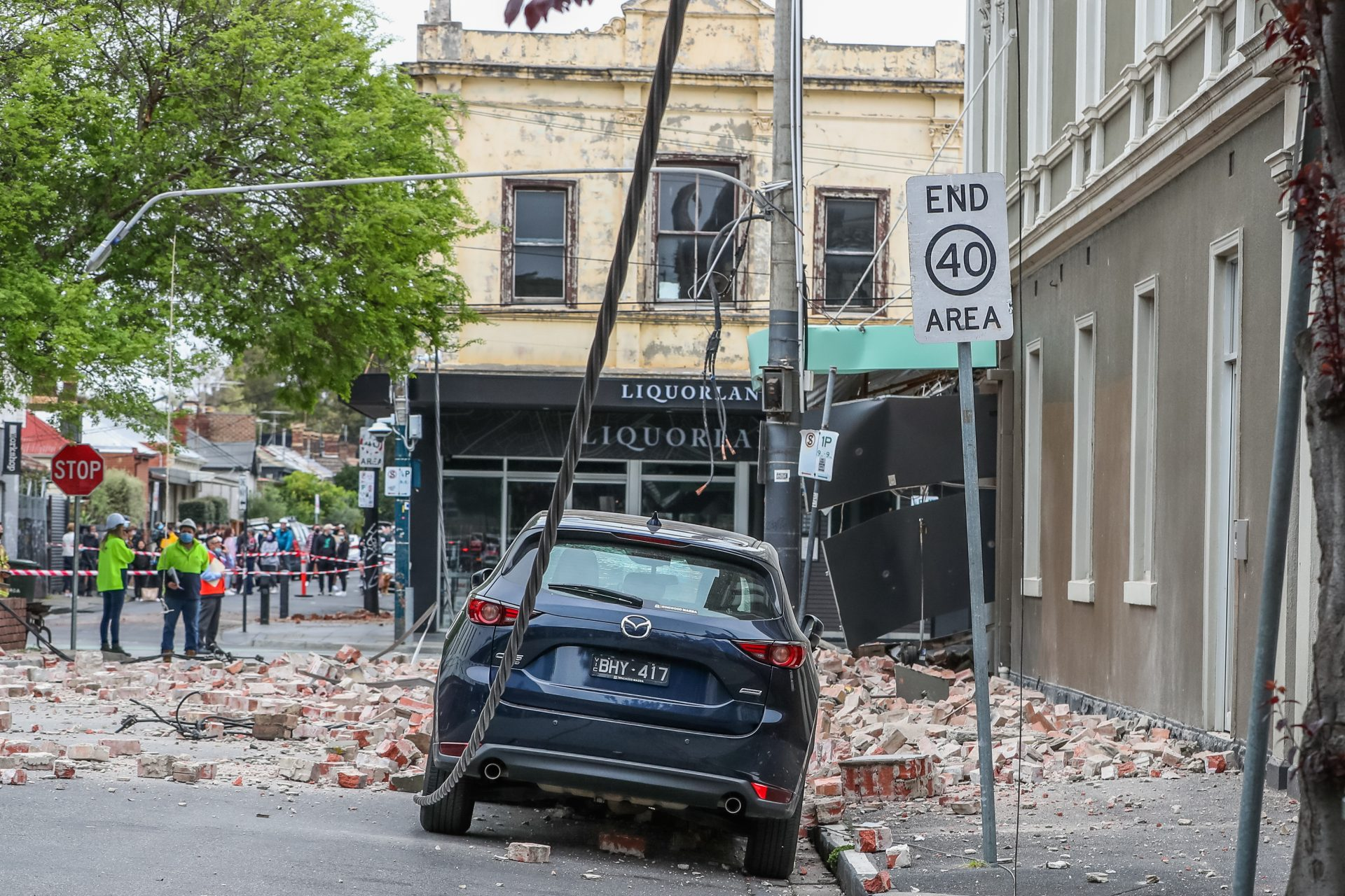 Images of the surprising earthquake in Melbourne